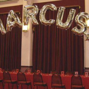 Birthday Party personalised Foil Balloon in Leicester