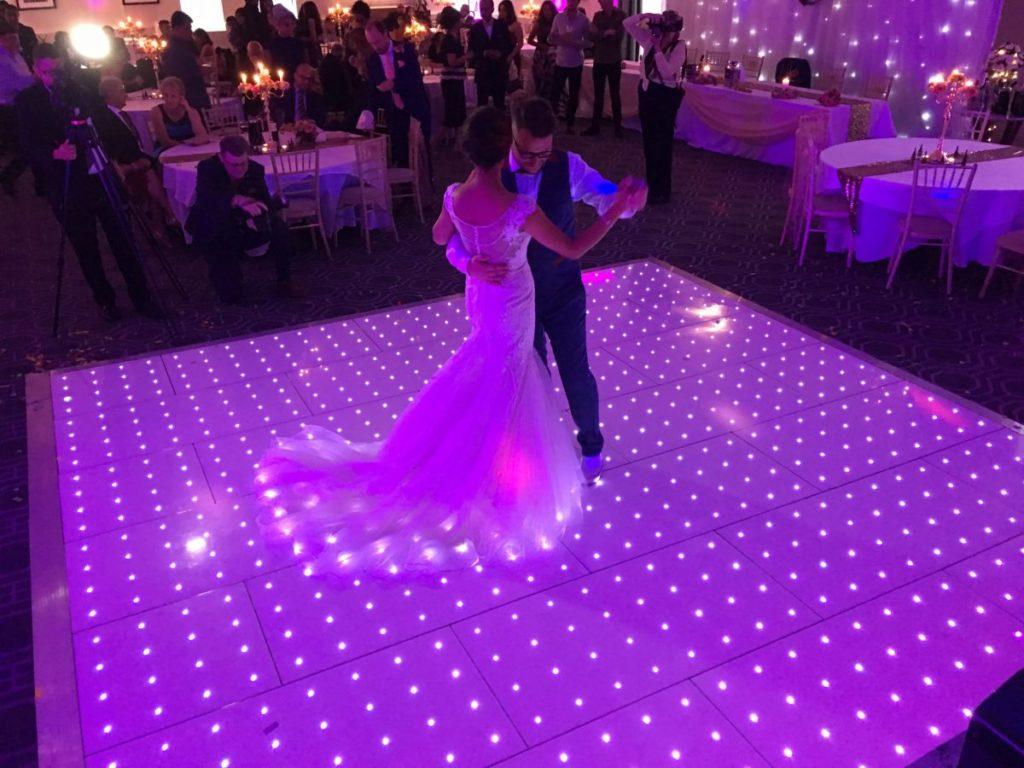 Starlight Dancefloor Wedding hire