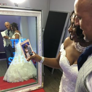 Magic Mirror Hire for wedding in Leicester