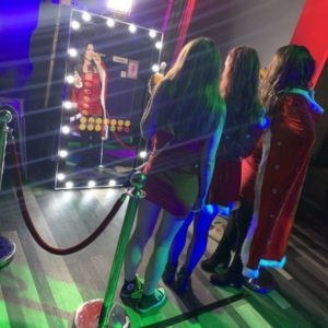 Magic Selfie Mirror Photo Booth Hire in Leicester