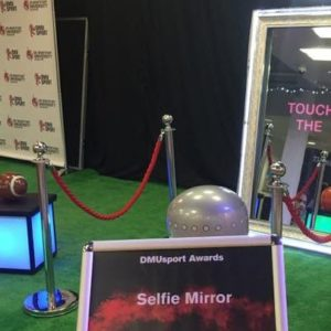 DMU Prom with Magic Mirror Hire