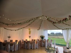 Ceiling Drapes Hire in Leicester