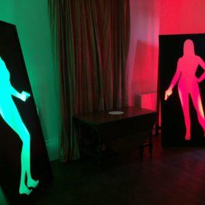 Giant Bond Girl Picture Frames
