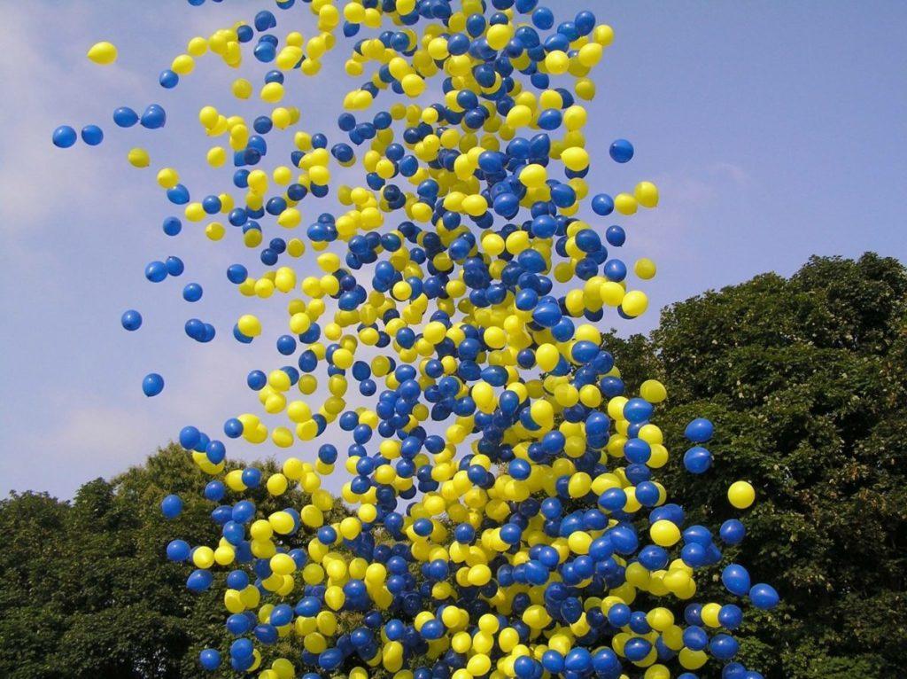 Outside Balloon Drop