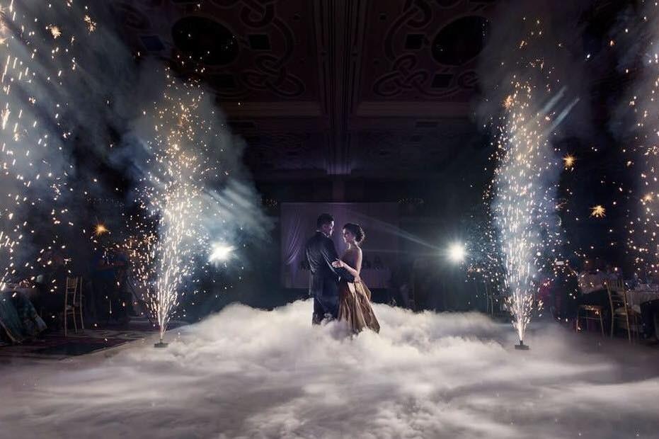 Sparkular Indoor Wedding Fireworks For Hire