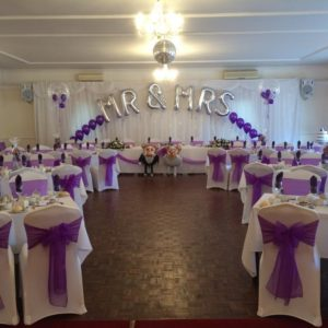 Personalised Wedding balloons - Giant Balloons and Giant Balloon Letters