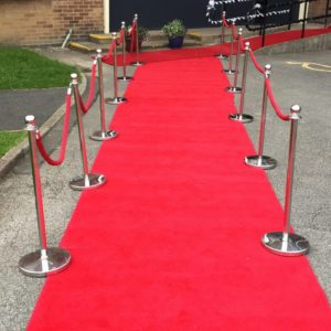 VIP Red Carpet and Pole Hire